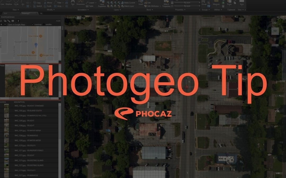 Photogeo Tip – Sharing CAD Files with PhotogeoDWG Data